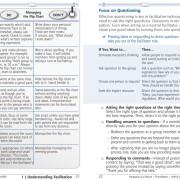 Facilitation at a Glance Sample Page