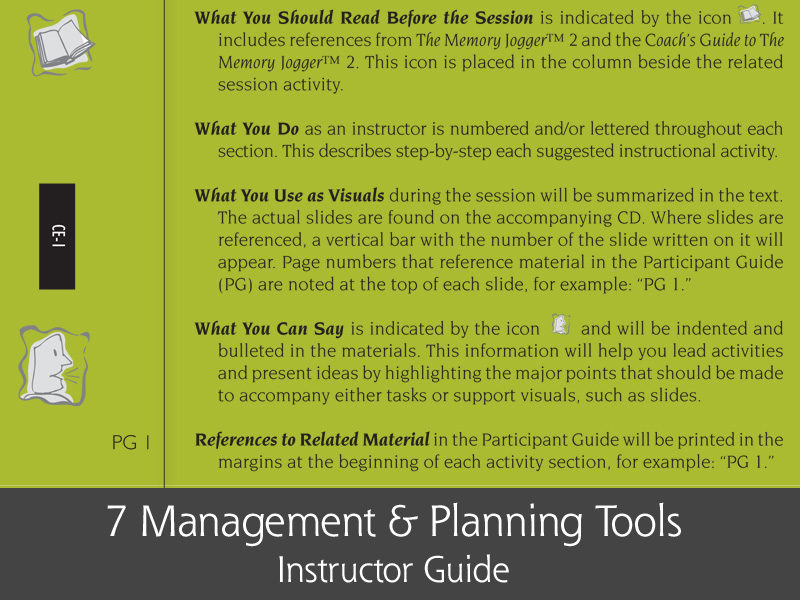 7MP Tools Tree    Diagram    Instructor    Guide        GOALQPC
