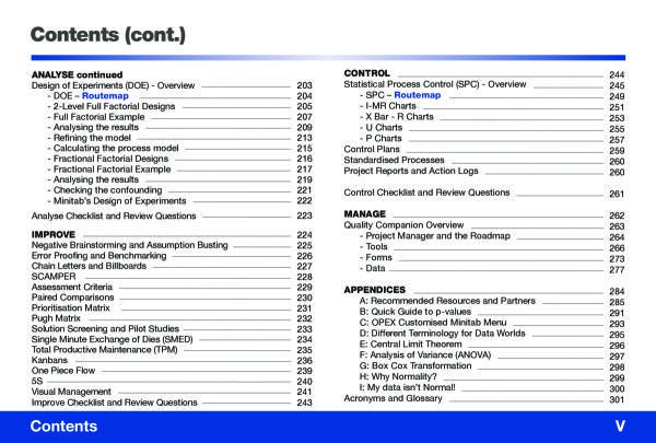 lean six sigma minitab 5th edition goal qpc